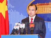 Le Vietnam demande à la Chine de mettre fin aux constructions sur Hoang Sa et Truong Sa
