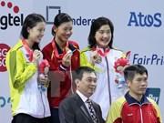 SEA Games : neuf médailles d'or le 6 juin pour le Vietnam