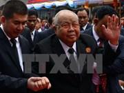 Décès du président du Sénat cambodgien Chea Sim