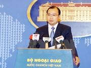 Le Vietnam salue toutes les contributions constructives et responsables