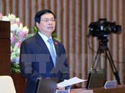 L'AN continue d'interpeller le ministre de l'Industrie et du Commerce