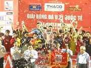 Le Vietnam décroche le titre de champion de la Coupe internationale de football U21