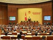 Ouverture de la 8e session de l'Assemblée nationale de la 14e législature