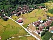 Le village des bâtonnets d'encens de l'ethnie Nùng