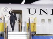 Premières images : quand la vice-présidente américaine est arrivée au Vietnam