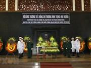 La cérémonie funéraire de M. Truong Vinh Trong