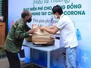 Les ATM riz gratuits pour les Vietnamiens pendant l'épidémie de COVID-19 dans tout le pays