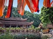 Tranquilité de la pagode Dia Tang Phi Lai à Ha Nam