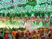 Ouverture du Festival des fleurs de Da Lat 2019