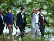 Le Premier ministre japonais fait du jogging dans le centre-ville de Hanoï