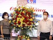 21 juin: le chef de la Commission centrale de sensibilisation et d'éducation félicite la VNA