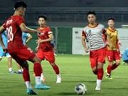 L'équipe vietnamienne se prépare aux Émirats Arabes Unis pour son match contre la Chine
