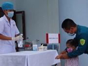 COVID-19: la prévention et le contrôle du COVID-19 sur l'archipel de Truong Sa (Spratleys)