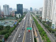 Construction des six rampes du viaduc Mai Dich-Nam Thang Long