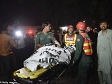 Pakistan : au moins 72 morts dans une explosion à Lahore