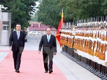 Le Premier ministre Nguyen Xuan Phuc en visite officielle en Chine