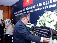 Hommage du président Tran Dai Quang à l'étranger