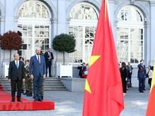 Le Premier ministre Nguyen Xuan Phuc en Belgique