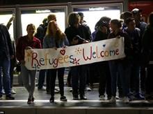 Les Européens saluent les réfugiés