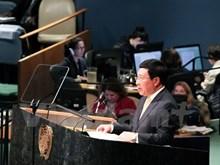 Le vice-Premier ministre et ministre des AE Pham Binh Minh à la 71e session de l'ONU