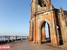 L'ancienne église de Hai Ly, témoignage du changement climatique