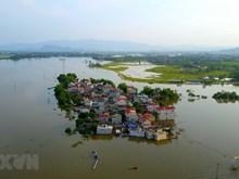 Plusieurs communes riveraines de Quoc Oai sont sous l'eau