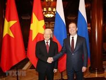Activités du secrétaire général du PCV Nguyen Phu Trong en Russie