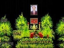Hommage au président Tran Dai Quang