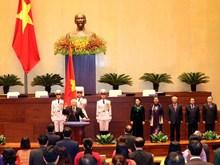 Le leader du PCV Nguyen Phu Trong élu président de de la République