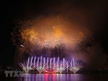 Images de l'ouverture du Festival international de feux d'artifice de Da Nang 2019
