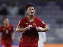Asian Cup 2019 : Quang Hai marque un but magnifique pour le Vietnam lors du match face au Yémen