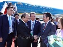 Le Premier ministre Nguyen Xuan Phuc est arrivé à Pékin