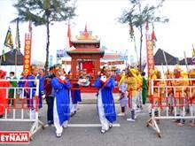 La cérémonie d'accueil de la Baleine à Da Nang reconnue comme patrimoine national