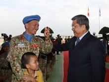 Le Vietnam affirme son engagement à contribuer à la paix du monde