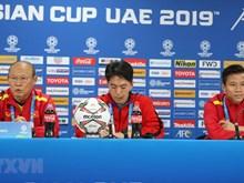 L'entraîneur Park Hang-seo en conférence de presse avant le match Vietnam-Irak