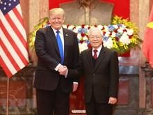 Sommet Etats-Unis – RPDC: Nguyen Phu Trong reçoit Donald Trump