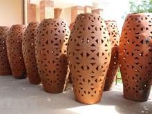 De nouveaux produits au village de poterie de Bau Truc dans la province de Ninh Thuan