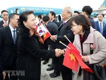 La présidente de l'AN Nguyên Thi Kim Ngân entame sa visite officielle en R. de Corée