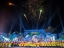 Images impressionnantes de la cérémonie d'ouverture  de la 7e Fête du café de Buôn Ma Thuôt