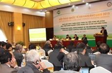 Agriculture : partage d'expériences avec le Laos et le Cambodge