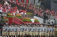 Le Premier ministre présent à la parade nationale de Singapour