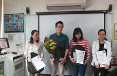 Le premier candidat vietnamien remporte un prix régional IELTS