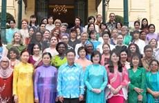 Le groupe des femmes de la Communauté de l'ASEAN voit le jour à Hanoi