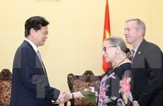 Le PM Nguyen Tan Dung reçoit la juge de la Cour suprême des Etats-Unis