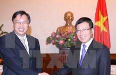 Consultation politique Vietnam-Singapour