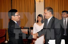 Consultation politique Vietnam-Pakistan