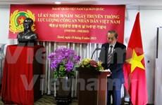La Journée traditionnelle de la police populaire du Vietnam célébrée à l'étranger