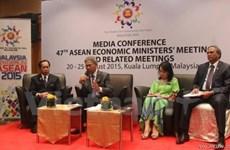AEM 47 : pour matérialiser la communauté économique de l'ASEAN vers la fin de l'année