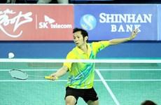 Ouverture du tournoi de badminton Yonex Sunrise à Ho Chi Minh-Ville