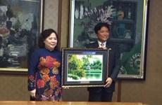 Une délégation de Hanoi en visite à Fukuoka